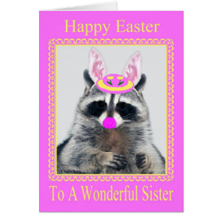 Happy Easter To Sister Greeting Card