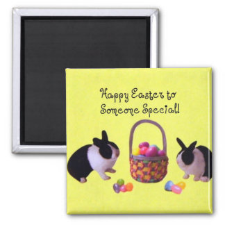 Happy Easter to Someone Special! 2 Inch Square Magnet