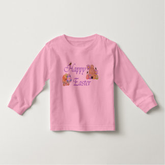 Happy Easter - Toddler Long Sleeve T-Shirt
