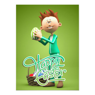 Happy Easter Toon Card