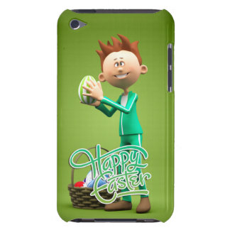 Happy Easter Toon Barely There iPod Case