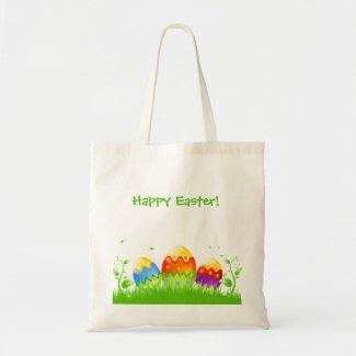 Happy Easter Tote Bag bag