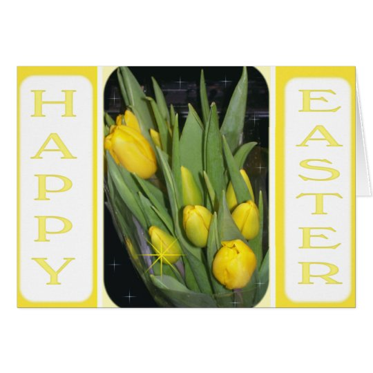 Happy Easter-Tulips Card