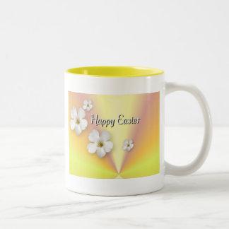 Happy Easter Two-Tone Coffee Mug