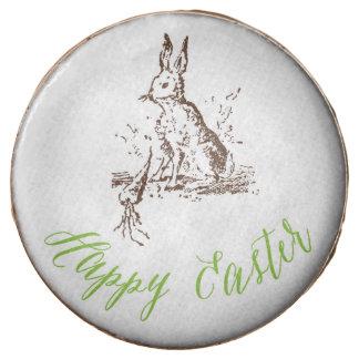 Happy Easter Vintage Bunny Cookies