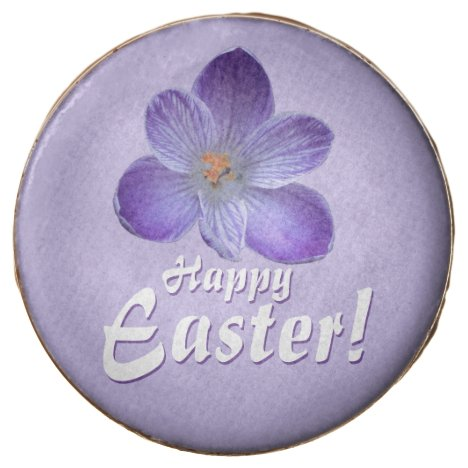 Happy Easter! Violet crocus 1.2.3.T Chocolate Dipped Oreo