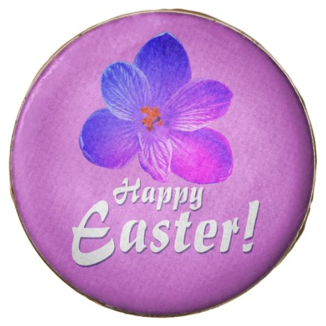 Happy Easter! Violet crocus 1.2.T Chocolate Covered Oreo