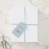 Happy Easter // Watercolor Bunny Gift Tags