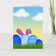 Happy Easter Wishes greeting card