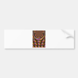 Happy Easter wishes Greetings Seamless graphics ar Bumper Sticker