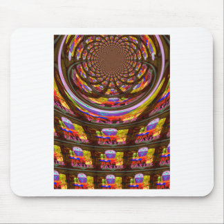 Happy Easter wishes Greetings Seamless graphics ar Mouse Pad