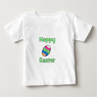 Happy Easter with Egg Baby T-Shirt