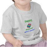 Happy Easter with Egg Tee Shirt
