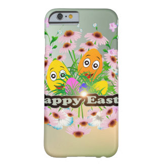 Happy easter with funny easter eggs barely there iPhone 6 case