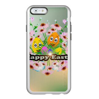 Happy easter with funny easter eggs incipio feather® shine iPhone 6 case