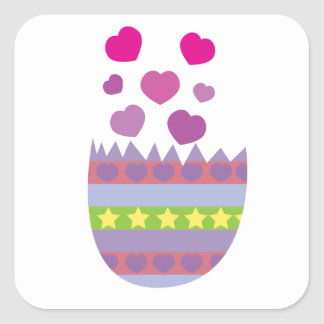 Happy Easter With Love Sticker