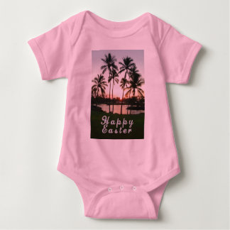 Happy Easter with Palms At Sunset T Shirt