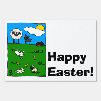 Happy Easter! Signs