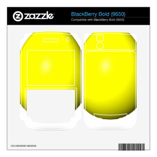 Happy Easter - Yellow Egg BlackBerry Decal