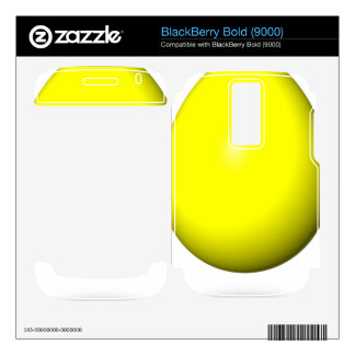 Happy Easter - Yellow Egg Decals For BlackBerry