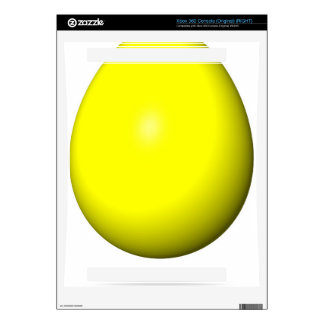 Happy Easter - Yellow Egg Xbox 360 Console Decal