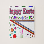 Happy Easter (You Add Text) Jigsaw Puzzles