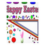 Happy Easter (You Add Text) Letterhead Design