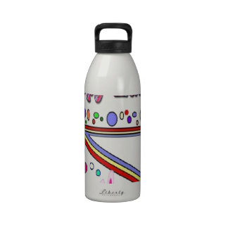 Happy Easter (You Add Text) Reusable Water Bottles