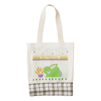 Happy Easter! Zazzle HEART Tote Bag