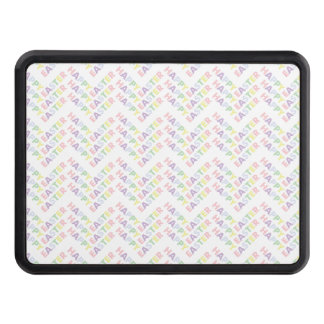 Happy Easter Zig Zag Pattern Trailer Hitch Cover