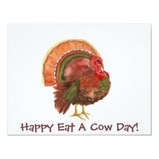 Happy Eat A Cow Day! - Dinner Invitation
