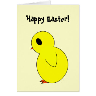 Happy Eater Chick card