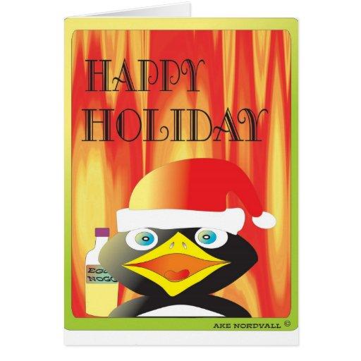 HAPPY EGG NOGG HOLIDAY 1 CARD