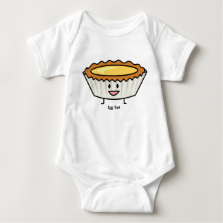 Happy Egg Tart Baby Bodysuit