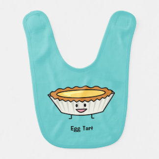 Happy Egg Tart Bib