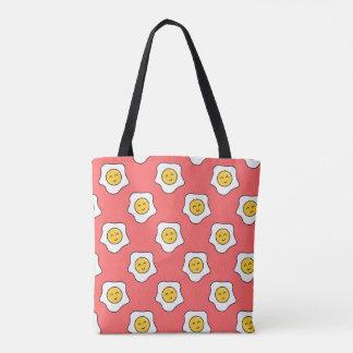 Happy Eggy Tote Bag