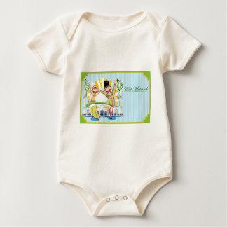 Happy Eid Mubarak Baby Bodysuit