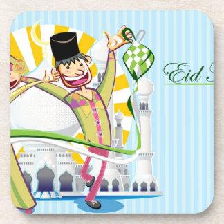 Happy Eid Mubarak Drink Coaster