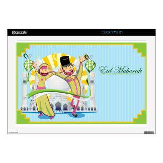 Happy Eid Mubarak Laptop Decals