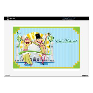 Happy Eid Mubarak Laptop Skin
