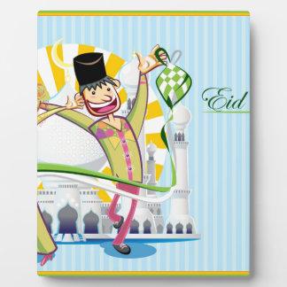Happy Eid Mubarak Plaque