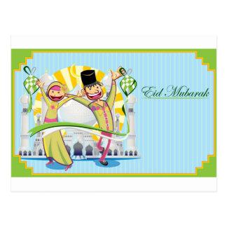 Happy Eid Mubarak Postcard