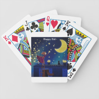 happy eid playing cards