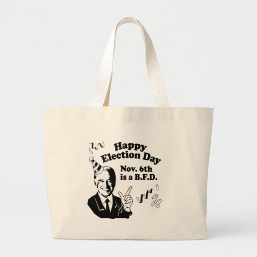 HAPPY ELECTION DAY.png Canvas Bag
