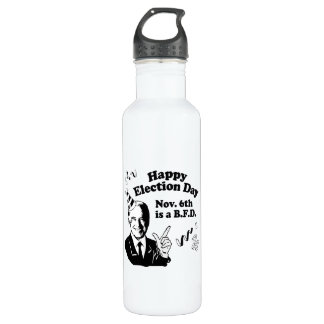 HAPPY ELECTION DAY.png 24oz Water Bottle