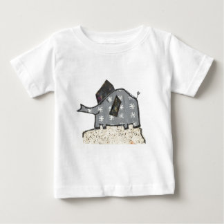 Happy Elephant Baby T-Shirt