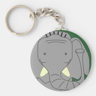 HAPPY ELEPHANT KEYCHAIN