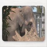 Happy Elephant Mouse Pad