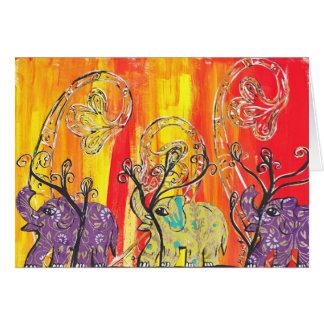 Happy Elephant Parade card