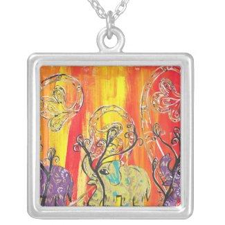 Happy Elephant Parade Necklace necklace